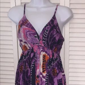 GREAT COND!! Designed By Natura Colorful Sundress